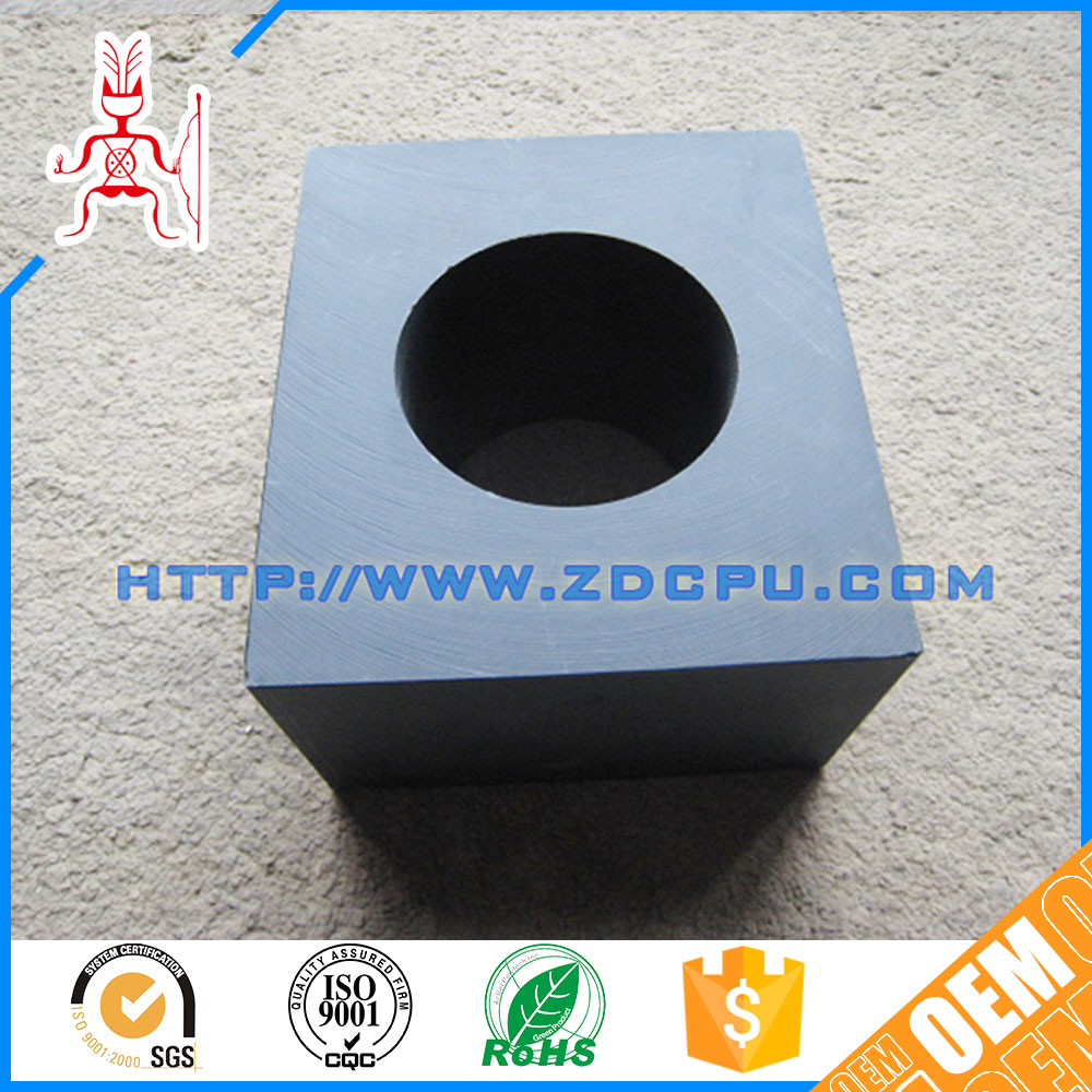 China ISO9001 factory nonstandard square tube bushings