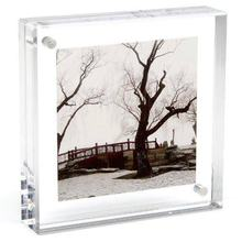 Yageli China wholesale 6x9 plexiglass plastic lucite acrylic fridge magnet photo frame