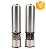 New design household salt and pepper grinders with glass bottle