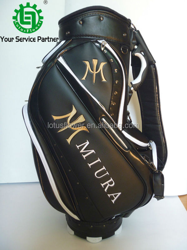 2015 New Design Customized PU Golf Stand Bags