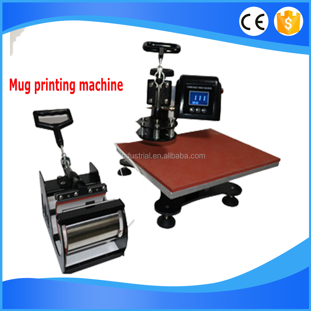 Popular Tshirt Mug Cap Heat Press Printing Machine