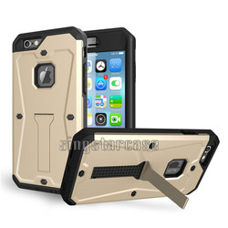 Hibrid defender combo 3 in 1 heavy duty stand case for iphone 6, for iphone 6 shockproof case
