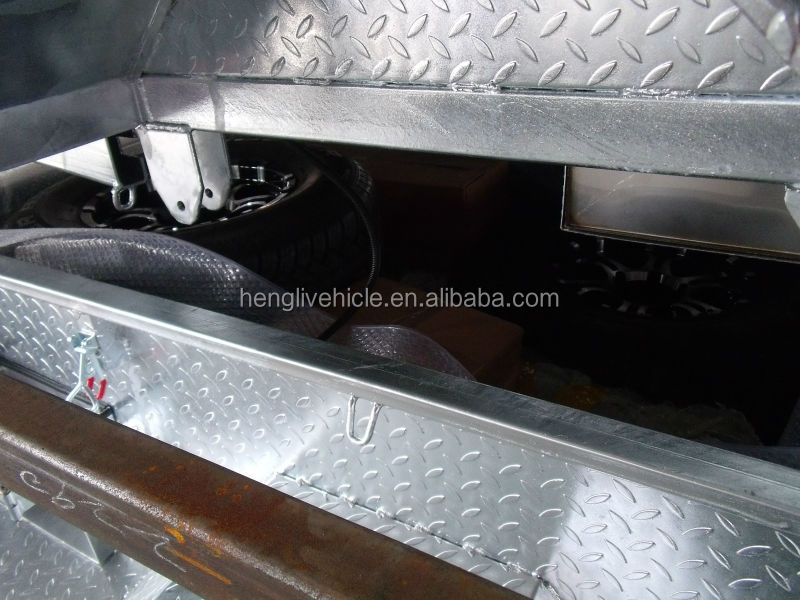 best quality hot dipped galvanized soft floor 7*4 camper/camping/travel trailers
