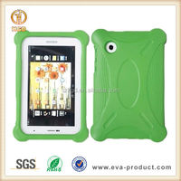 Popular among children tablet for samsung galaxy tab 2 back cover