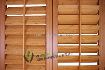 63mm Bamboo slats for folding blinds venetian blinds
