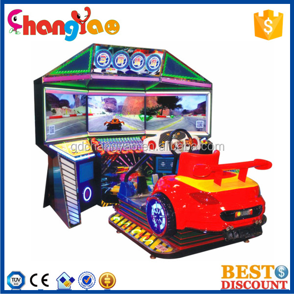Hot Selling 42 inch Dynamic Outrun Racing Game Video Game Making Machine