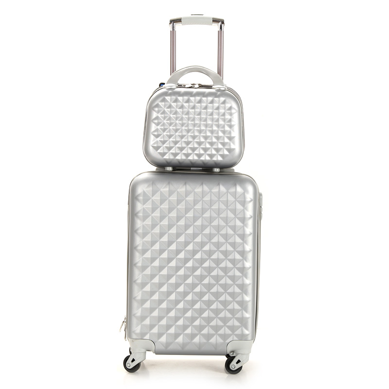 ABS TRAVEL luggage spinner trolley bags cheap suitcase durable president luggage