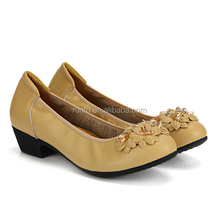 In stock elegant comfortable genuine leather ladies shoes alibaba online wholesale casual shoes