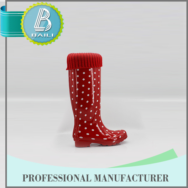 Newest Design Low price Removable Waterproof high heel boots for men