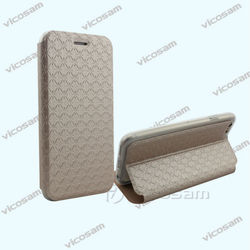 luxury book style leather case for iphone 6,for iphone 6 leather case