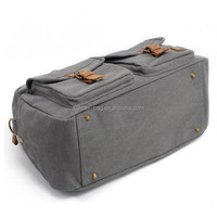 Durable canvas lady luggage travel duffel bags
