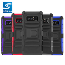 Defender Holster Case, 3 Layer Rugged Hybrid Holster Belt Clip Defender Case for Samsung Note 8