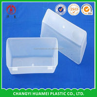 Customized plastic dog feeding trough