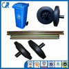 CE, REACH Cheap 200mm Dustbin Rubber Wheel