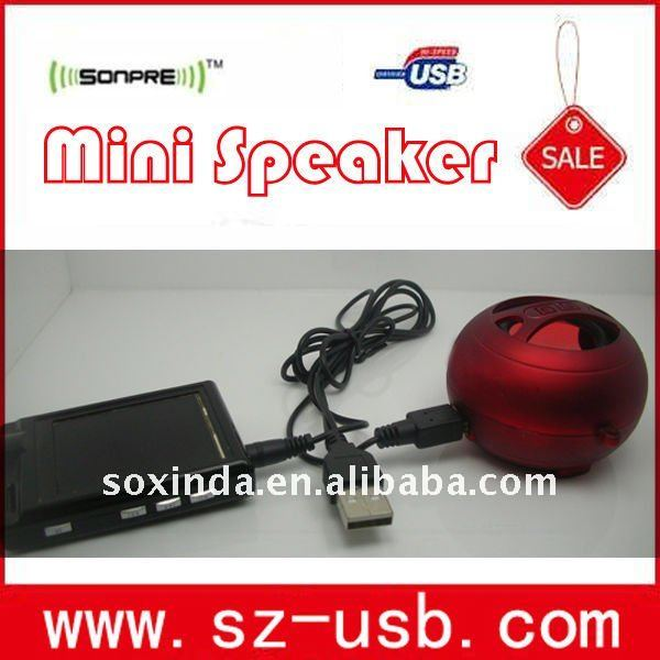 Mini Speaker with MP3, CD, walkman, notebook, computers or other audio devices