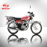 2013 125cc classic motorcycle street bike for sale (WJ125-C)