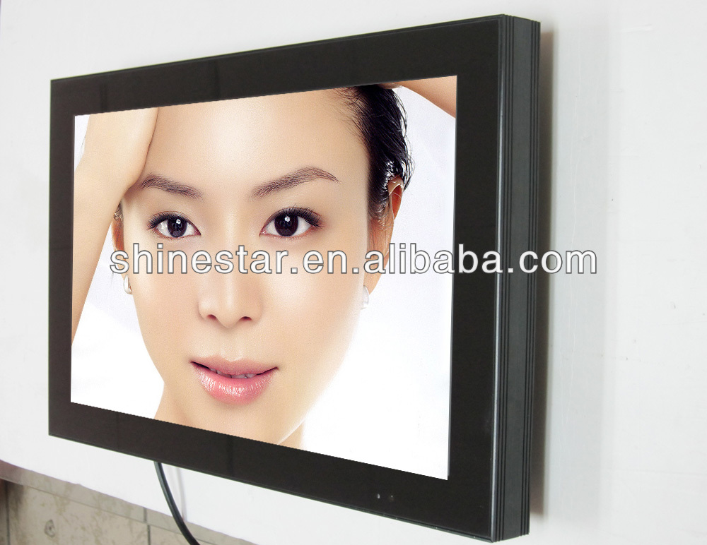 22inch digital advertising media wireless wifi LCD TV with android system