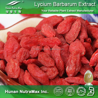 Goji Fruit P.E., Goji Berry P.E. , Barbary Wolfberry Fruit P.E.