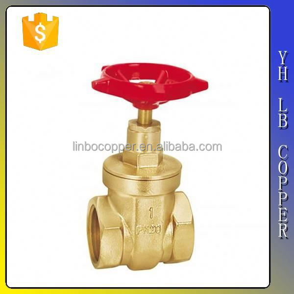 China supplier API 6D Brass Slab Gate Valve LINBO-C715