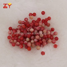 Natural Red Coral Price, Faceted Coral Beads, Wholesale Red Coral Stone