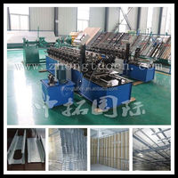 Automatic Operating High Speed C Purlin Metal Stud Light Steel Frame Making Machine