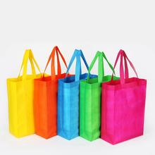 hot selling printed colourful non woven shopping bag