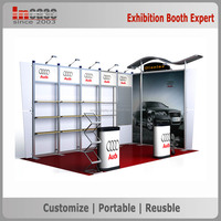 Heavy-duty aluminum frame fair and exhibition booth stand contractor