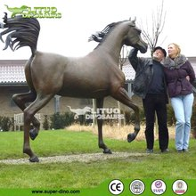Animatronic Artificial Animal Model Simulation Horse