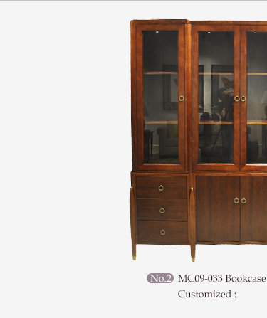 Baroque Style Luxury Executive Office Furniture / Solid Wood Hand Carving Study Room Set