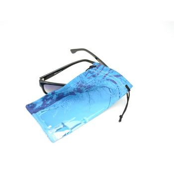 Personalized printing microfiber cool eyeglass cloth pouch