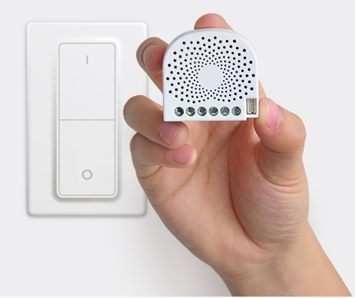 Z-Wave smart In-wall and Dual in-wall switch