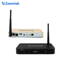 Best selling home show products smart stream tv box zoomtak t8 plus amlogic s812 kodi 15.2 wifi internet tv box