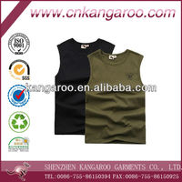 Men's Close-fitting Sleeveless Shirt