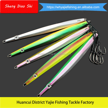 300G 34CM Big Sized Fishing Lure Vertical Jigging Lures Squid Wholesale