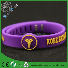 Basketball Sports Wristband 1000 ion Power Bands Balance Health Energy Silicone Bracelet