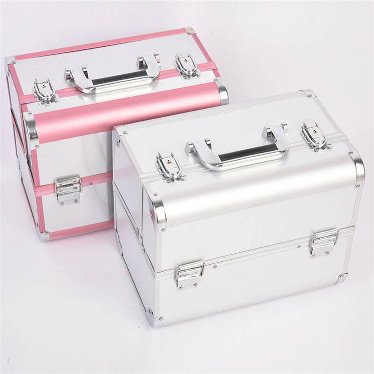 Luxury Professional Aluminium Beauty <strong>Cosmetics</strong> & Makeup Train Case