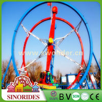 Fly in the sky ferris wheel ring rides carnival games,carnival games rides for sale