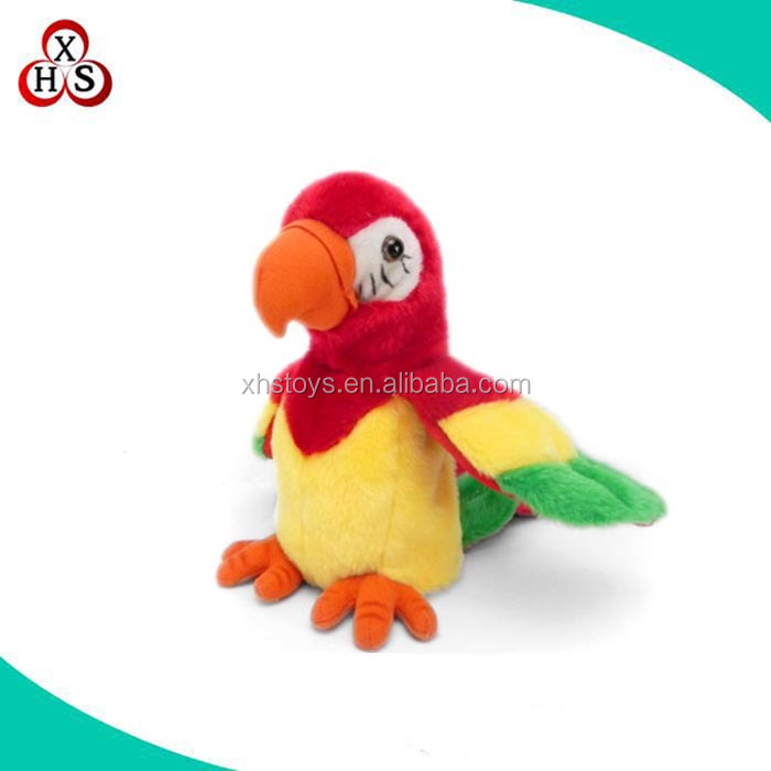 Pretty Plush Talking Parrot Toys For Sell