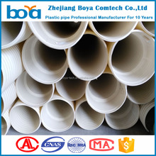 cheap pvc corruagted sewage pipe