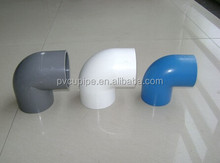 PVC pipe and fittings 90 degree PVC elbow with rubber joint 315mm