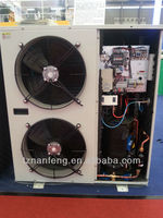 fan cooled refrigerator freezing condensing unit for freezing room