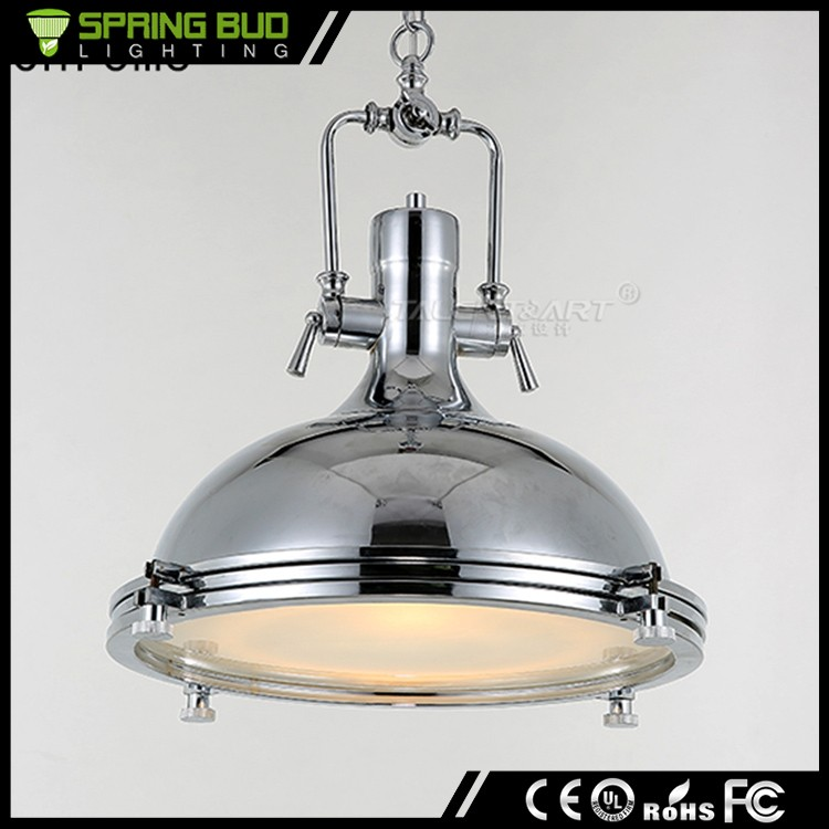 Indoor decoration Vintage <strong>modern</strong> Style restaurant industrial silver pendant ceiling light