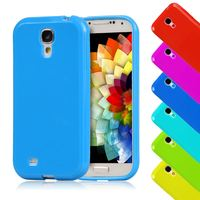 "Candy Silicone TPU Gel Soft Plastic Case For SAMSUNG Galay S4 Mini i9190 i9195 4.3"" Rubber Back Cover Shockproof Cell Phone Bag"