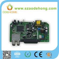 fr4 single side pcba electronic component manufacturer in shenzhen