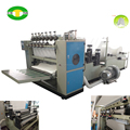 Double embossing V fold facial tissue making machine price