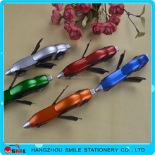 innocuity safety kids safe pen car shape ball pen with logo