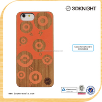 wood Material Hot Sell Mobile Phone Wooden Case for iPhone 6 Back wood Cover