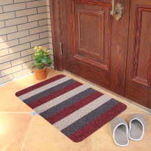 Indoor outdoor entrance non-slip waterproof PP tufted plastic PVC grass mat