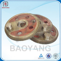 CNC Hobbing Cast Iron gear for spead reducer