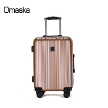 Factory Supply OEM ODM Logo Hard Shell 20 24 inch 4 Spinner Brake Wheel PC Travel Trolley Luggage Suitcase